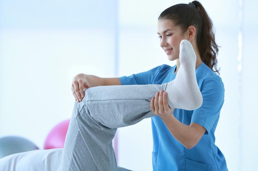Физиотерапевт возобновляет приём